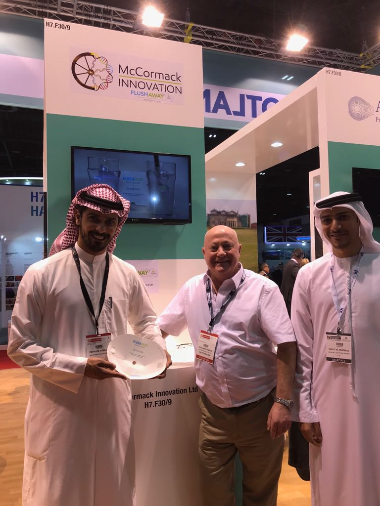 Brian meets with representatives from the Gulf Health Authority