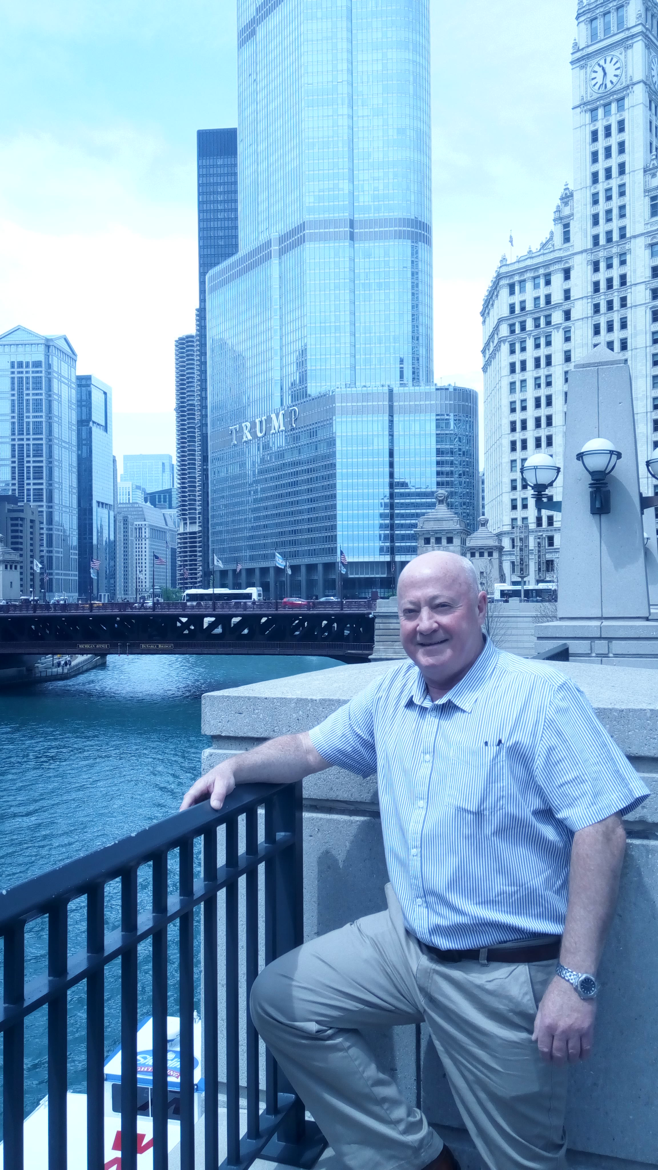 Brian in Chicago at World of Wipes Conference